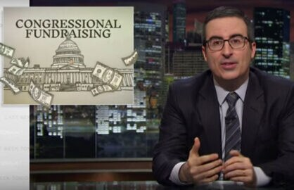 John Oliver on Congressional Fundraising