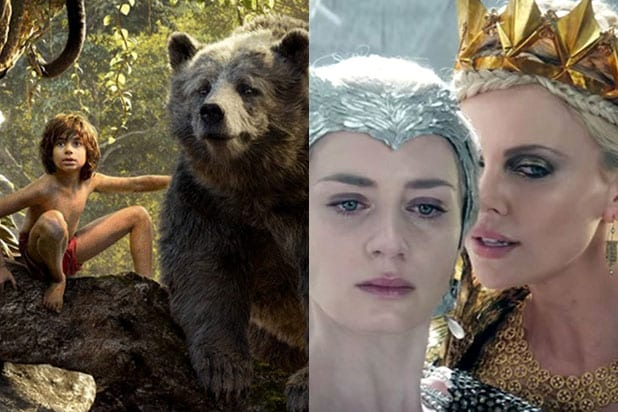 Jungle Book vs Huntsman box office preview