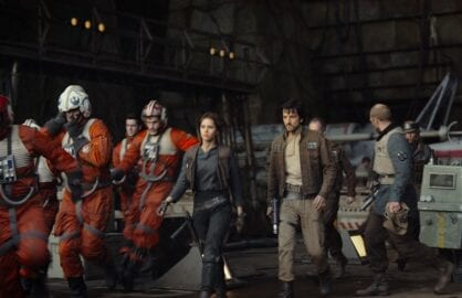star wars rogue one jyn erso and diego luna