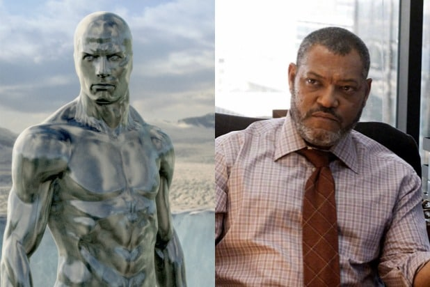 laurence fishburne silver surfer perry white