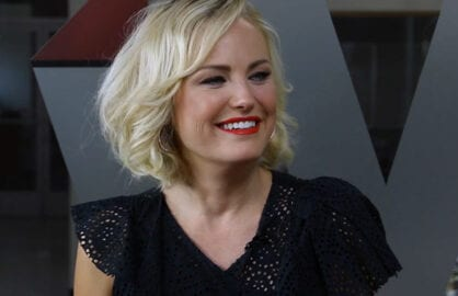 Malin Akerman plays Wrapid Fire