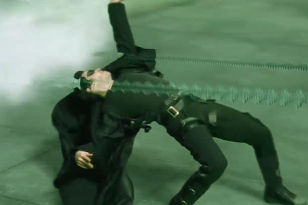 matrix bullet time astonishing cgi