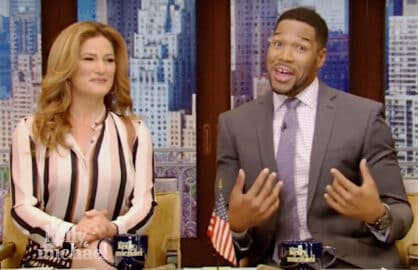 Michael Strahan leaving