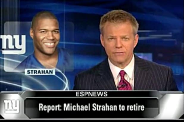 michael strahan retirement