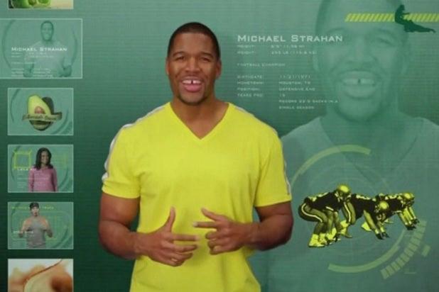 michael strahan subway ad