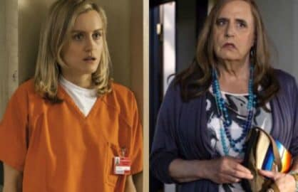 "The protagonists from Netflix's ""Orange Is the New Black"" and Amazon's ""Transparent"""