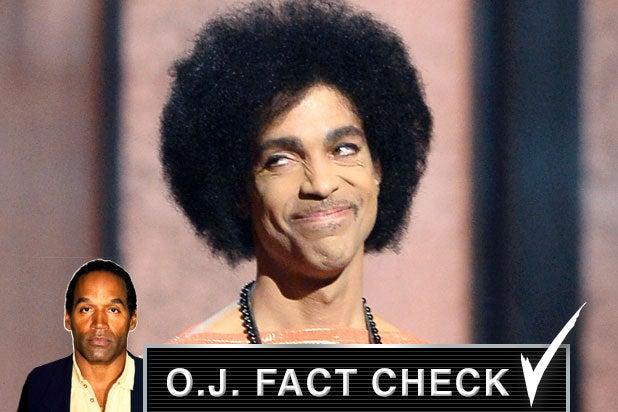 oj fact check prince