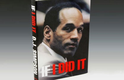 OJ Simpson If I Did It book cover