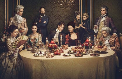 Outlander La Dame Blanche Dinner Party