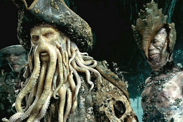 pirates of the caribbean davey jones astonishing cgi