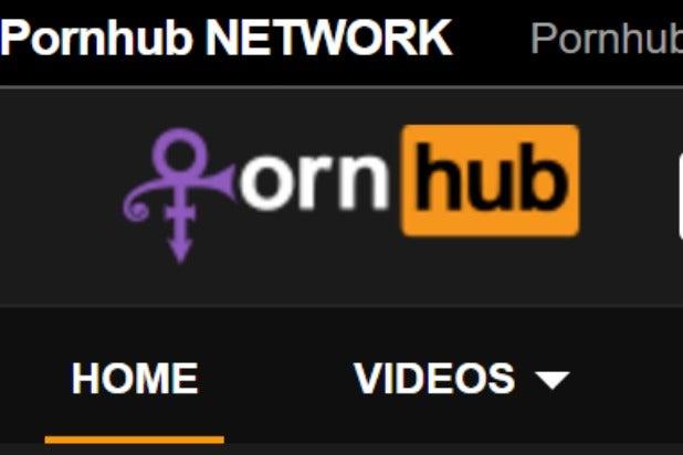 oddest prince tribute pornhub adds love symbol logo photo