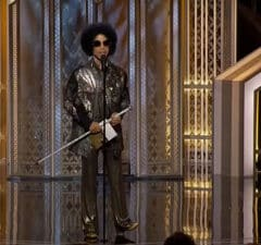 Prince at Golden Globes 2015