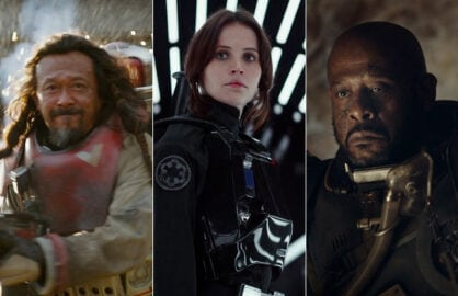 rogue one star wars wen jiang felicity jones forest whitaker