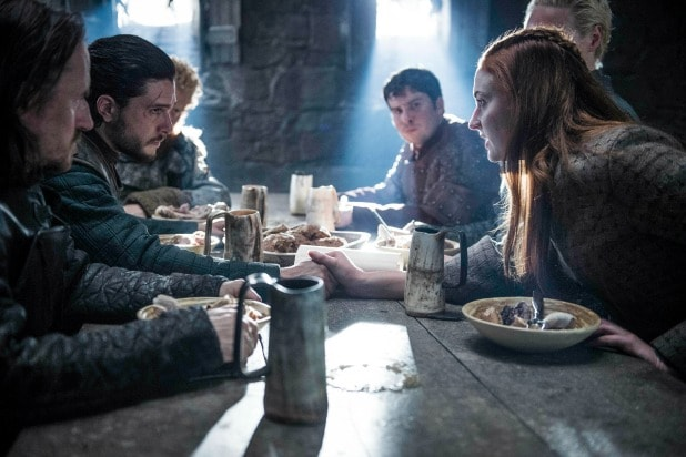 Санса и Джон Сноу воссоединиться Игра престолов
