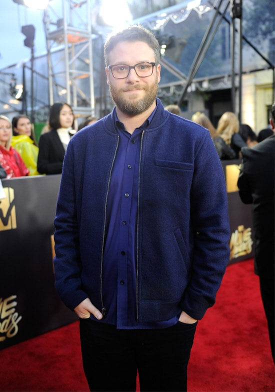 seth rogen mtv movie awards