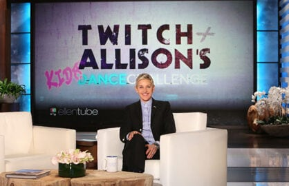 Ellen Launches Dancing Kids Show
