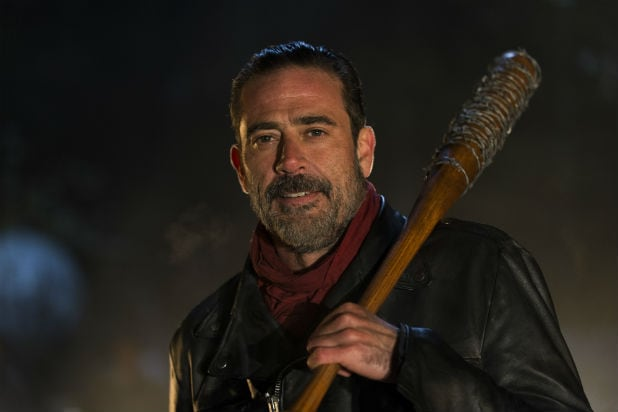 the walking dead jeffrey dean morgan negan saviors
