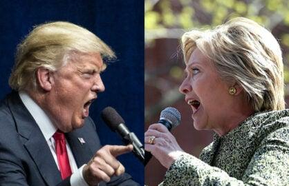 Donald v Hillary Twitter War: Round 2