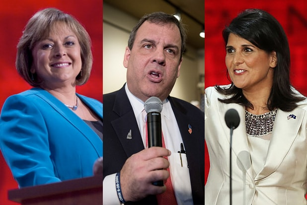 donald trump running mate, martinez, christie, haley