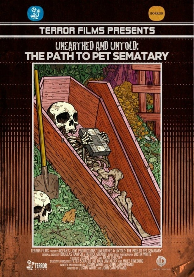 unearthed and untold the path to pet sematary poster