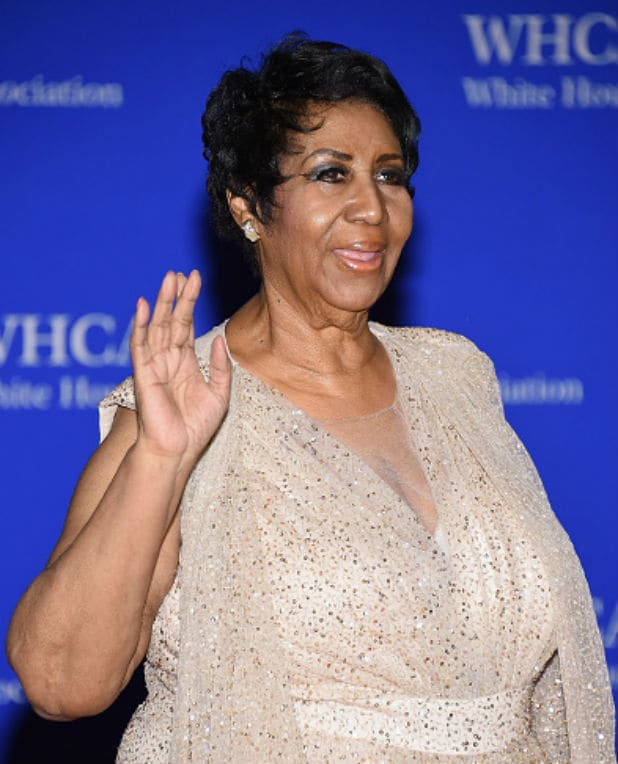 white house correspondents dinner aretha franklin