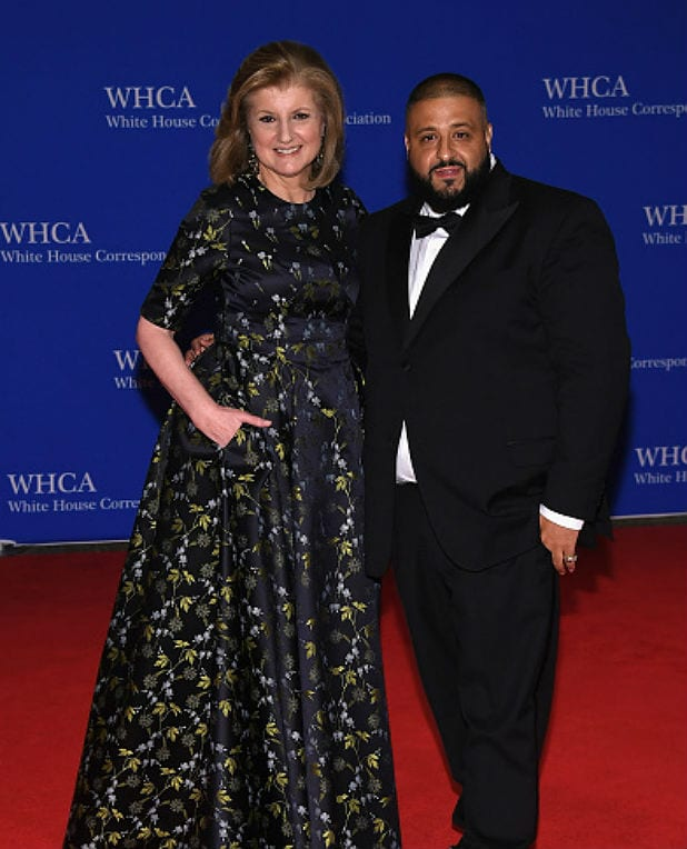 white house correspondents dinner arianna huffington dj khaled