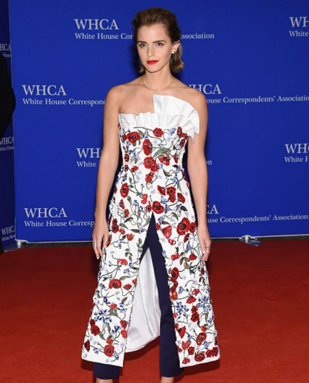 white house correspondents dinner emma watson