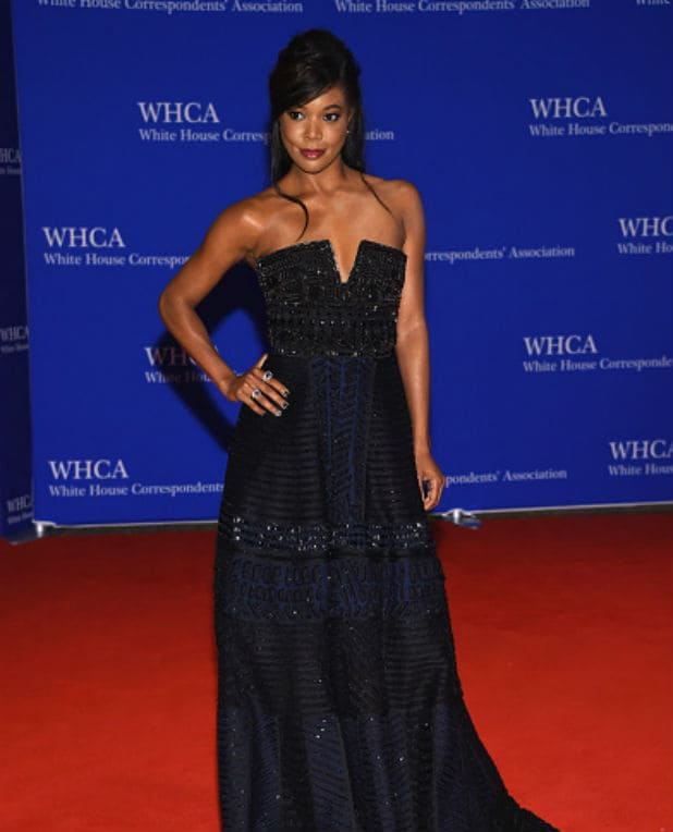 white house correspondents dinner gabrielle union