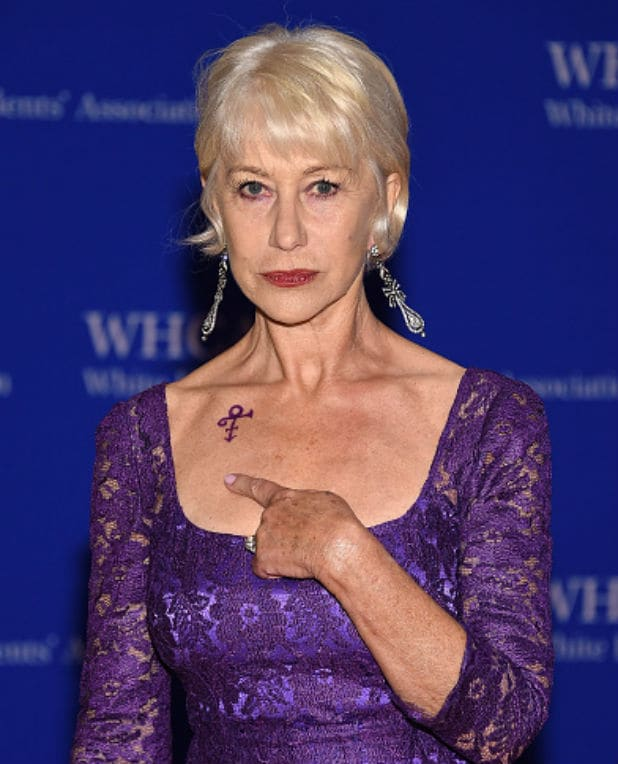 white house correspondents dinner helen mirren