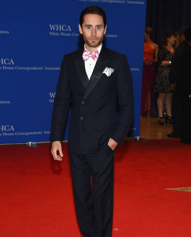 white house correspondents dinner jared leto