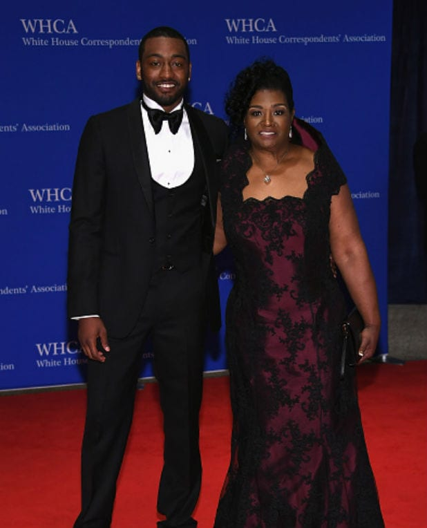 white house correspondents dinner john wall frances pulley