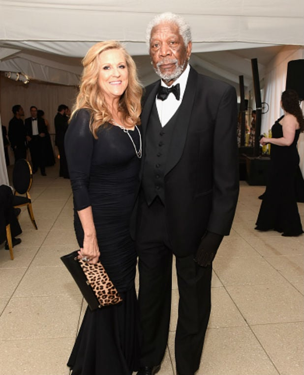white house correspondents dinner morgan freeman