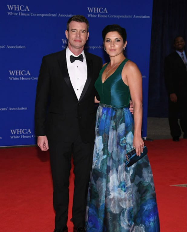 white house correspondents dinner scott foley marika dominczyk