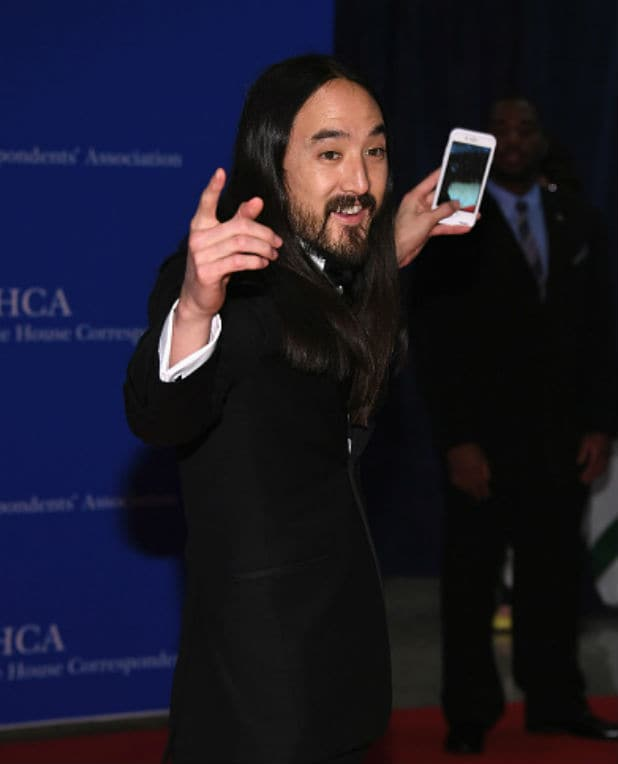 white house correspondents dinner steve aoki