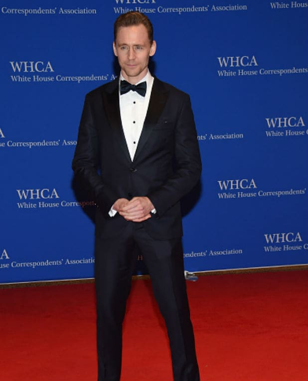 white house correspondents dinner tom hiddleston