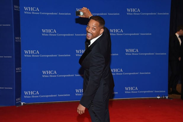white house correspondents dinner will smith