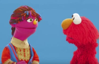 Zari Elmo Sesame Street