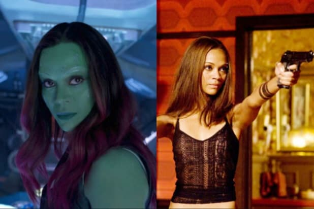 zoe saldana guardians of the galaxy the losers marvel dc