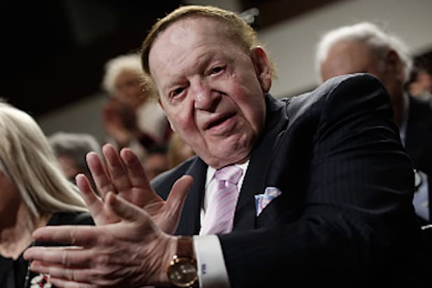 Donald Trump Scores Sheldon Adelson Endorsement, Breaks Into Happy Dance
