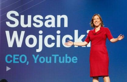 Youtube Susan Wojcicki bandcast google