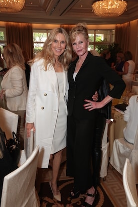 Alana Collins Stewart and Melanie Griffith