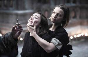 Arya Stark and The Waif arya stark 3857017845002994