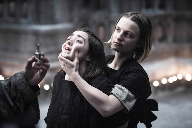 Arya Stark and The Waif arya stark 3857017845002994