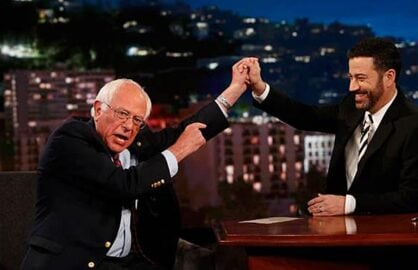Bernie Sanders on Jimmy Kimmel