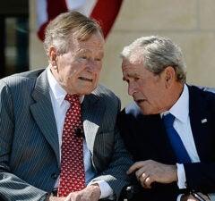 Bush Family Won't Endorse Trump
