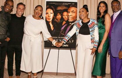 Oprah Winfrey Cast Standing Greenleaf