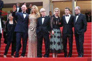 Cafe Society Cast Red Carpet Cannes