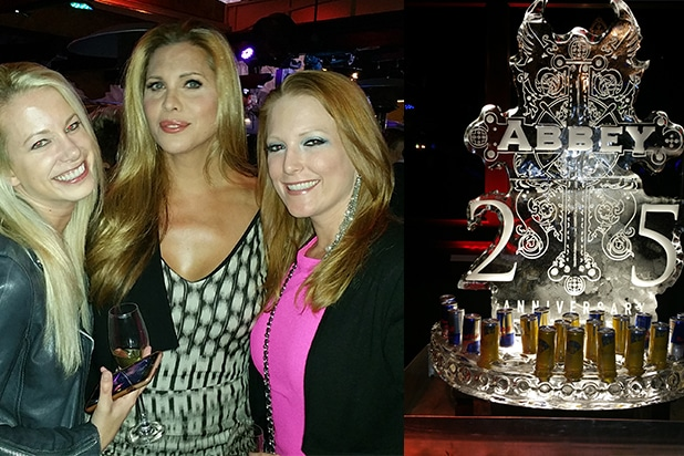 Candis Cayne Abey 25th Anniversary