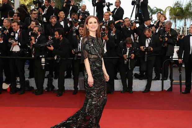 Cannes Red Carpet Arrivals Julianne Moore
