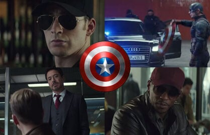 Captain America Civil War Product Placement